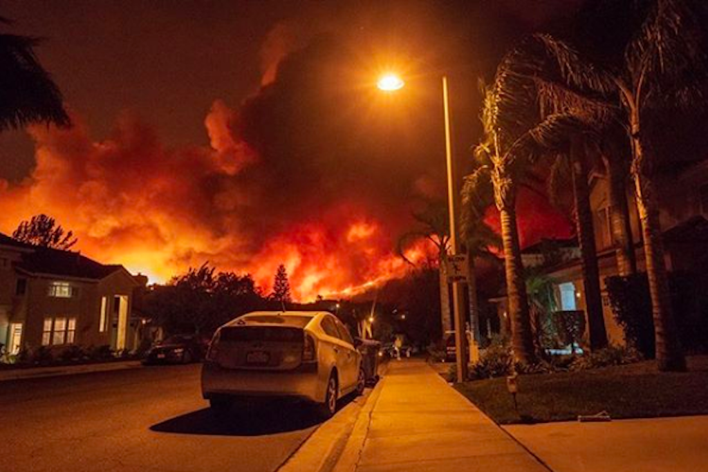 Woolsey Fire In Southern California